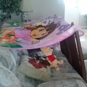 DD's Dora tent :)
