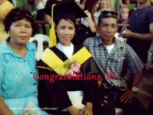 D with our parents.