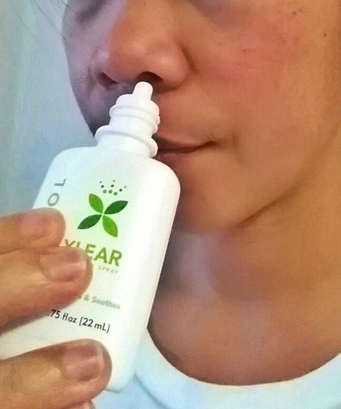 a - xlear nasal spray