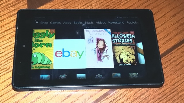 DD's Amazon Kindle Fire