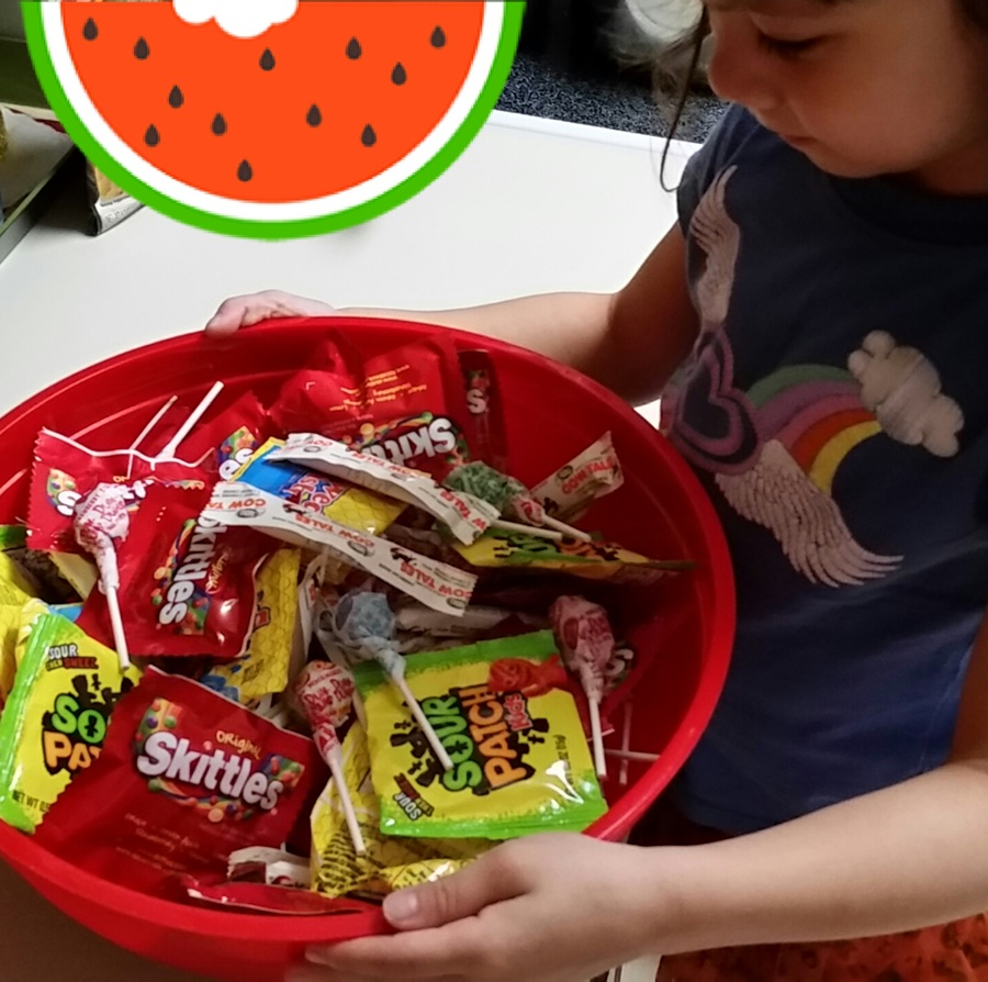 Candies and chocolates are ready.