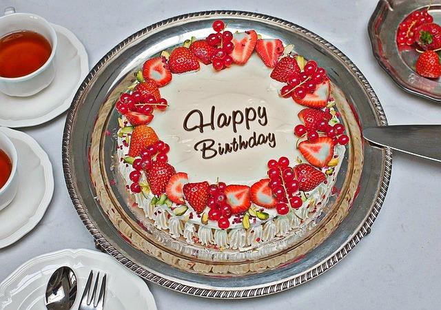 a-birthday cake