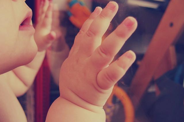 a-baby hands