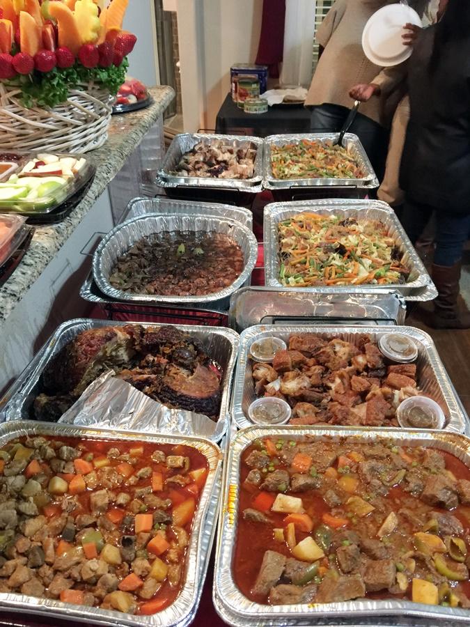 Lots of food. Yum.
