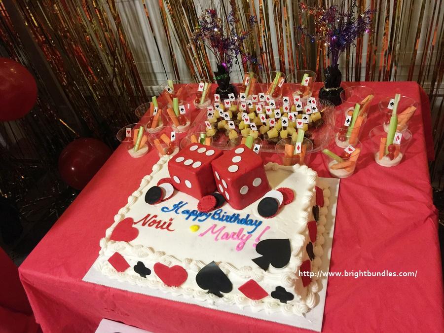 Our birthday cake.